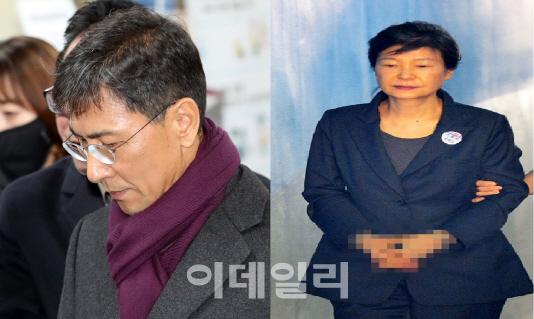 안희정 전 충남지사(왼쪽)와 박근혜 전 대통령(오른쪽). (사진=이데일리DB)