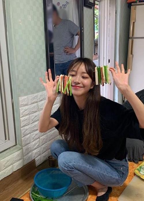 김소희가 열애설 이후 첫 근황을 공개했다. 사진=김소희 인스타그램