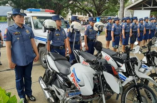 필리핀에 여경만 근무하는 지방 경찰서 개소 [필리핀 지방경찰 페이스북 계정 캡처]