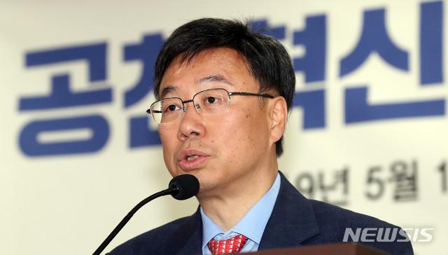 【서울=뉴시스】 박영태 기자 = 신상진 자유한국당 의원. 2019.05.15.since1999@newsis.com