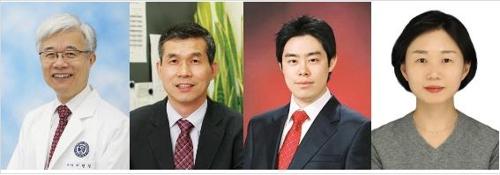 이민걸·지선하·김태균·정금지 연세의대 교수(왼쪽부터) [연세의대 제공]