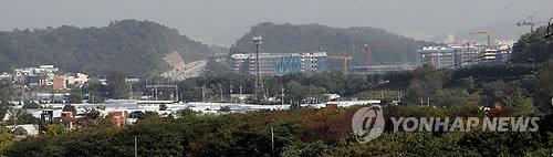 성남 금토동 일대 [연합뉴스 자료사진]