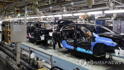 자동차 생산 조립라인 [연합뉴스 자료사진]