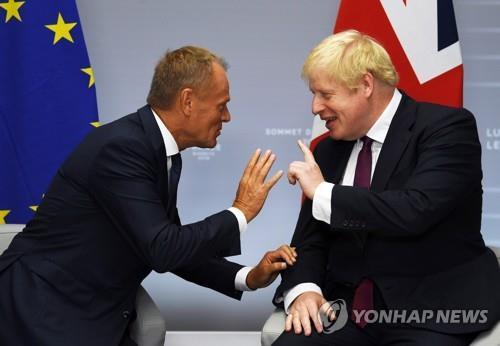 """""""EU 투스크-英 존슨, 유엔 총회 계기 뉴욕서 브렉시트 회담""""[사이트명 토토 추천스톰릴겜]"""