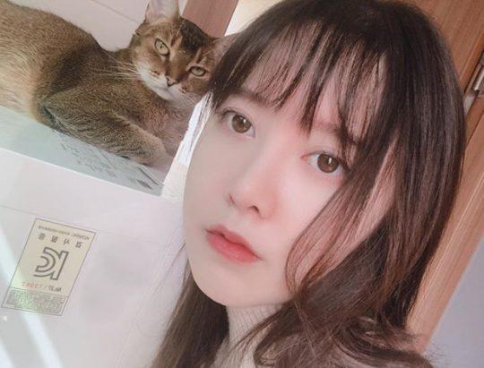 배우 구혜선의 SNS. /