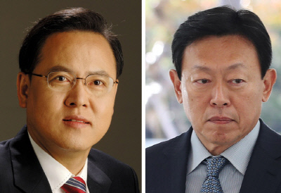 이명수 한국당 의원 | 신동빈 롯데 회장