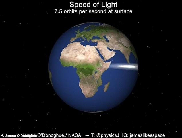 빛의 속도는 이렇게 느려…NASA 과학자가 만든 영상 화제