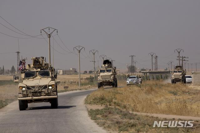 터키와 미국, 시리아 동부 접경지에서 3차 안전지대 합동순찰[카시오 토토|사이트명 토토]