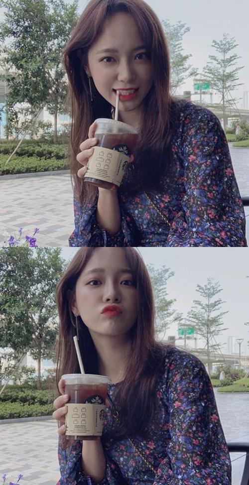 걸그룹 구구단의 멤버 김세정이 개인 SNS를 개설했다. 사진=세정 인스타그램