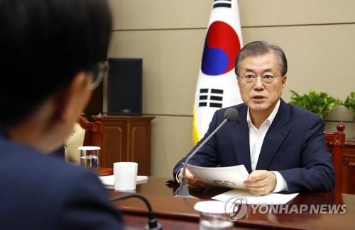 文대통령, 오늘 수보회의..북미협상·검찰개혁 메시지 주목