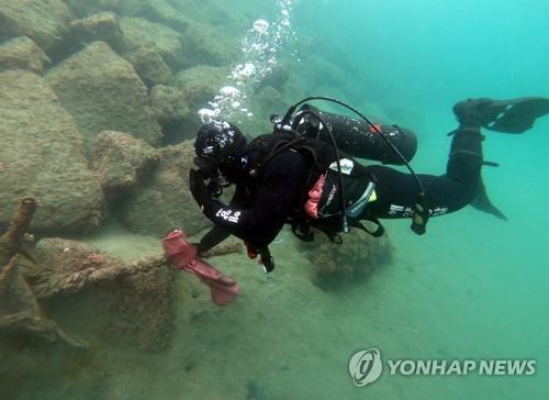 바다의 날 제주 수중정화 활동