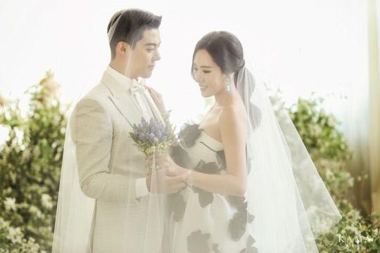 강남 이상화 커플 웨딩화보. 사진 제공 카마스튜디오