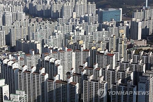 해운대 신시가지 아파트 [연합뉴스 자료사진]