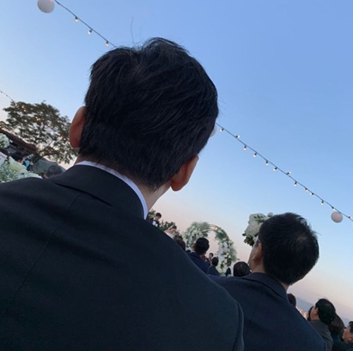 양현석, 김민준♥권다미 결혼식 사진 SNS에 올려 뭇매..결국 삭제