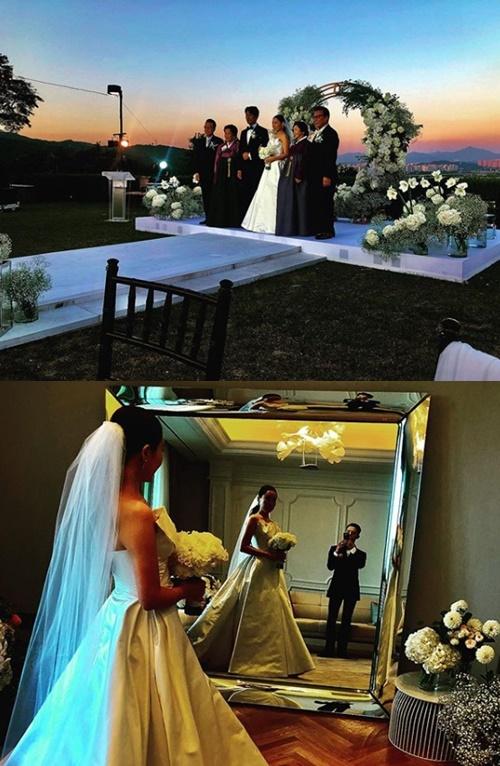 """'말년병장' 지드래곤 """"10월의 신부""""..누나 권다미♥김민준 결혼식 참석"""