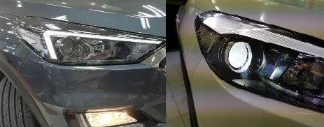 자기인증된 자동차 전조등 검사 면제(예 : 페이스리프트 전조등 사용)