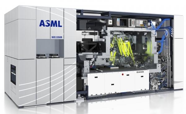 네덜란드 ASML의 극자외선(EUV) 노광장비. ASML은 세계 유일 EUV 장비 공급업체다.