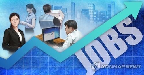 고용률 상승 (PG) [정연주 제작] 일러스트