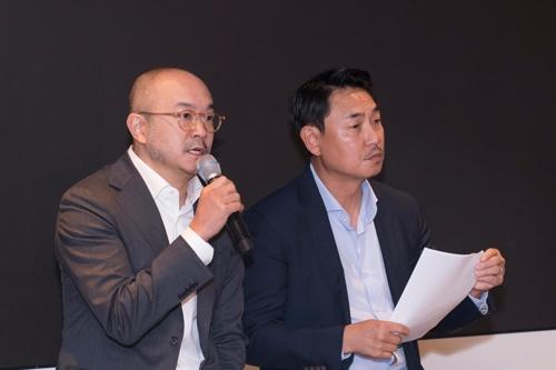 카카오 조수용(왼쪽)·여민수 공동대표 [카카오 제공]