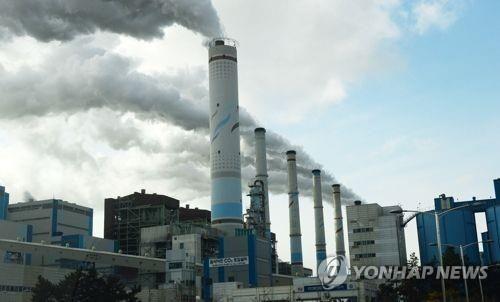 비이오중유로 화력발전소의 발전기를 돌리면 미세먼지의 주범인 황산화물과 질소산화물의 배출이 크게 줄어 듭니다. [사진=연합뉴스]