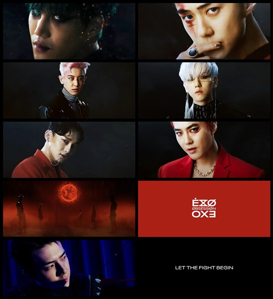 <p>8, 0: EXO official homepage and various SNS account, through the '#EXODEUX'(#EXO Deuce) promotion of the start of the trailer footage was revealed, and '#EXODEUX' promotion is a regular 6 album concept and debut since this temperature EXO made the world of storytelling with a different tee features a promotion with the new album, Expectations for the increase Outlook.</p><p>This day revealed the trailer video of the conflict for the red aura made by another EXO, aka X-EXO(X-EXO)of the emergence and forward unfold EXO X-EXOs for example and the hot reaction you are getting.</p><p>More X-EXOs various SNS accounts open, EXO and X-EXO account through the concept crafted with a teaser image and video, a music video teaser and a variety of content in sequence will be released in the global fans of the focus seems to be.</p><p>Also tonight at 12 oclock the '#EXODEUX' Mobile promotion page to open, the two accounts are disclosed in the content of the number of likes, retweets and comments such as users reaction index based on EXO X-EXO showdown of the situation in real time, showing, of course, later in the showdown wins the concept of rewards for content planning as well as EXO comeback more colorful to enjoy '#EXODEUX' promotion this would be as expected.</p><p>EXOs regular 6 house 'OBSESSION'is coming 27 on sale, and various online and offline music stores on the reservation purchase is possible.</p>