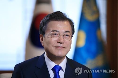 文대통령 국정지지도 45%..3주 연속 상승[한국갤럽]