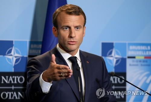 마크롱 프랑스 대통령 [로이터=연합뉴스 자료사진]