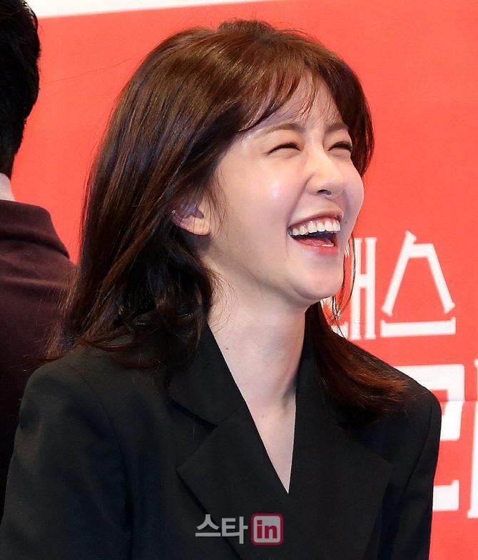 [포토]정인선, '기분 좋아지는 미소'