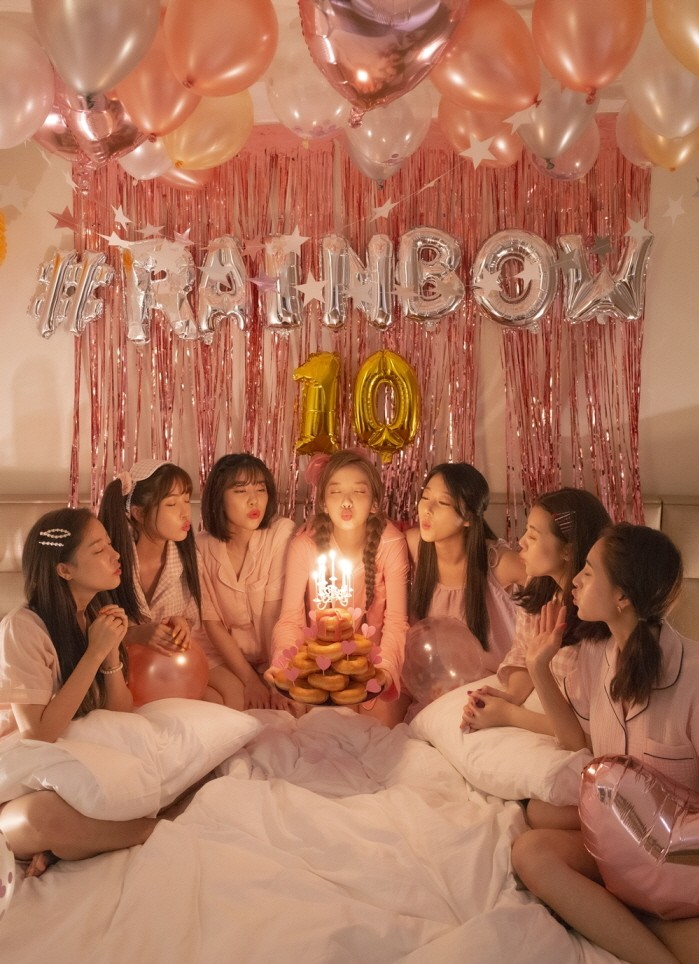 <p> debut 10th anniversary rainbow fan of love the day the new music and appearance.</p><p>14 rainbow individual social channel through the title, cover image, showing the 10-year anniversary Special single Over The Rainbowwith this day, 6 p.m. Music in public, he said.</p><p>Rainbow Special single Over The Rainbowis a debut 10 Anniversary for the society and the fans loved our spontaneously planned album, as piano and strings-based pop style song Aurora(Aurora)through a still life full of a rainbow of attraction to you is expected to have.</p><p>Rainbow always imagine I only did 10 years in the eyes and also looks amazing. Fans thanks this again could be afew days of this project to direct the preparation and hard work is also a funny thing, many did, but what than a long only sing along to be happy. Seven of affection filled with a song is enjoyable to listen to if you like itand I did.</p><p>Meanwhile rainbows 10th Anniversary Special single OVER THE RAINBOWof the title track Aurorais this the day 6pm various online music sites on the you can meet.</p>