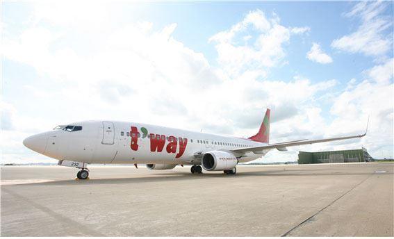 최근 일본 오이타공항의 국제선 터미널이 폐쇄됐다. 티웨이항공이 7~8월부터 오이타 노선 운항을 중단한 데 이어 대한항공마저 노선 중단을 예고하면서 오이타공항 국제선에 관광객 발길이 끊겼다. 티웨이항공 제공