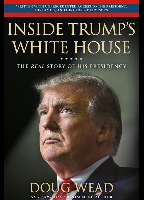 '트럼프의 백악관 안에서' 서적 표지