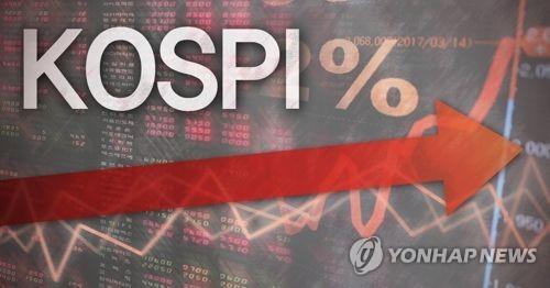 코스피 상승(PG) [제작 최자윤] 일러스트