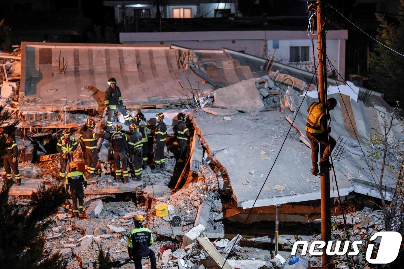알바니아 지진 사망자 47명으로 늘어..총리 가족도 희생[엠벳 토토|신세계 토토]
