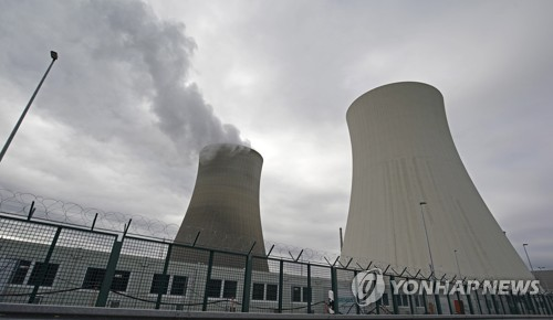 올해 말 폐쇄 예정인 독일 필립스부르크의 원자력발전소 전경 [EPA=연합뉴스]