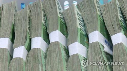 돈다발 [연합뉴스TV 제공]