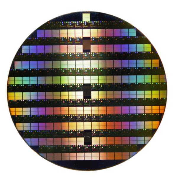 반도체 제조를 위해 사용되는 실리콘 웨이퍼. 게티이미지뱅크