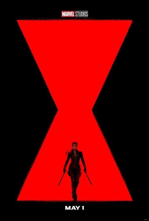 3일 공개된 영화 '블랙 위도우'의 포스터.