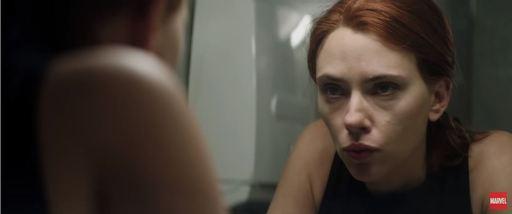 3일 공개된 영화 '블랙 위도우'의 트레일러(예고편) 중 한 장면.