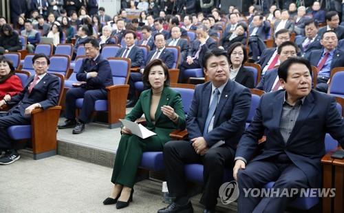 한국당 원내대표 레이스 본격화..패스트트랙 정국 돌파 '첫과제'[24k 토토|gksrpdla]