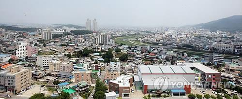 청주시 전경 [연합뉴스 자료사진]