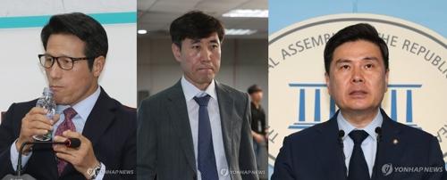 바른미래당 정병국·하태경·지상욱 의원 [연합뉴스 자료사진]