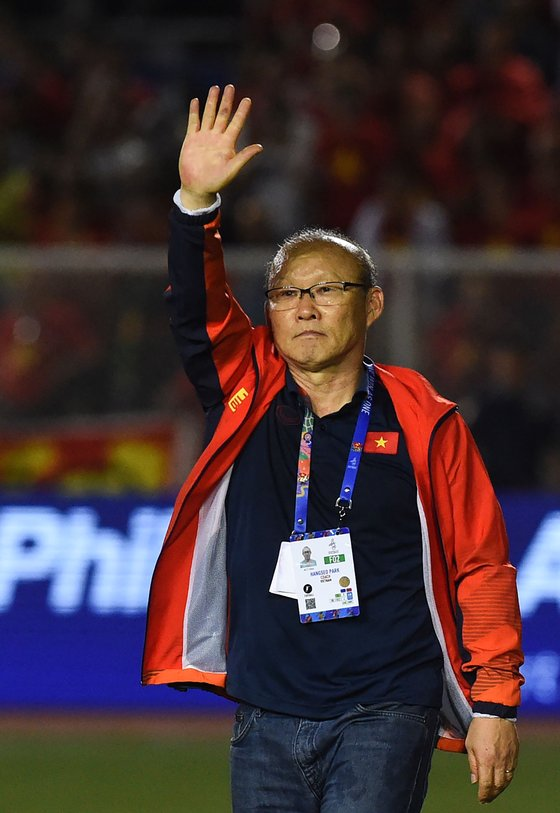 박항서 감독의 다음 목표는 2022 카타르월드컵이다. 사진=연합뉴스 제공