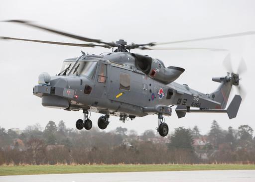 해군 AW-159 해상작전헬기가 성능시험을 위해 이륙하고 있다. 세계일보 자료사진