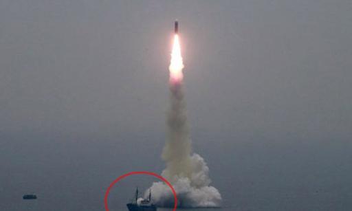 북한이 지난 10월 2일 신형 잠수함발사탄도미사일(SLBM) '북극성-3형'을 성공적으로 시험발사했다고 조선중앙통신이지난 10월 3일 보도했다. 조선중앙통신 연합뉴스