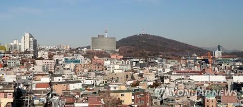 용산구 한남동 전경 [연합뉴스 자료사진]