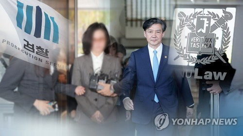 정경심 동양대 교수(왼쪽)와 조국 전 법무부 장관 (CG) [연합뉴스TV 제공]