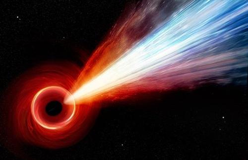 M87 은하 블랙홀 상상도 [NASA/CXC/M.Weiss 제공]