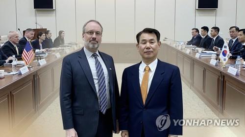 방위비 협상 해 넘길듯…올해 마지막 협의 개시 (CG) [연합뉴스TV 제공]