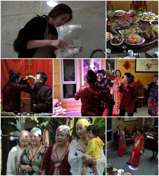 함소원, 잔칫날 늦잠 자다 '중국마마'에 혼쭐..중국 환갑파티 잔칫상 모습은?