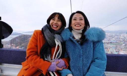 '불타는 청춘' 조하나, 강경헌과 함께 목포로 추억 여행
